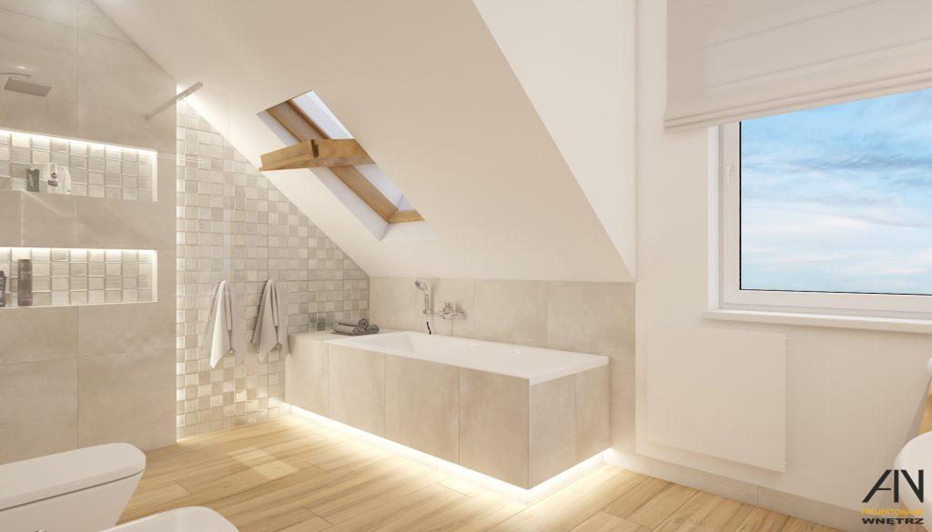 łazienka z drewnem 3