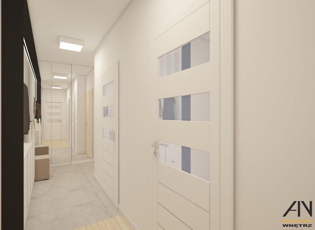 skandynawskie mieszkanie projekt